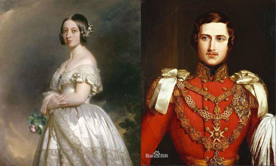 維多利亞女王&阿爾伯特王子