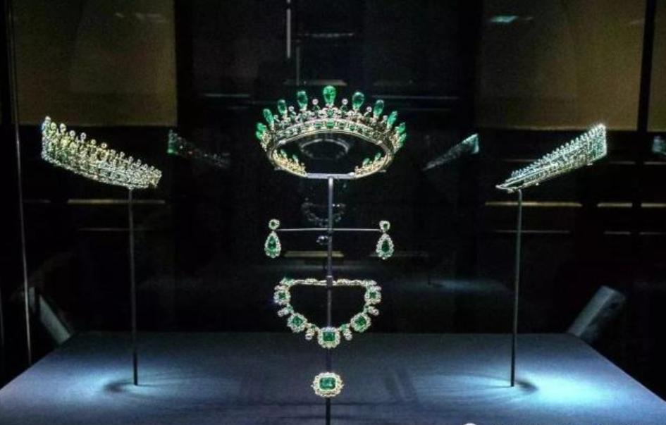 祖母綠珠寶盒套裝