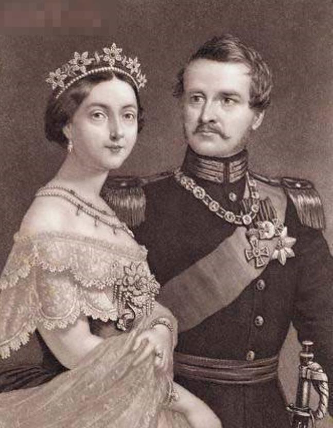 維多利亞女王和阿爾伯特王子