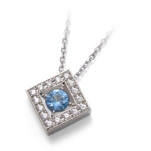 骨灰吊墜——圓形明亮式切割鑽石