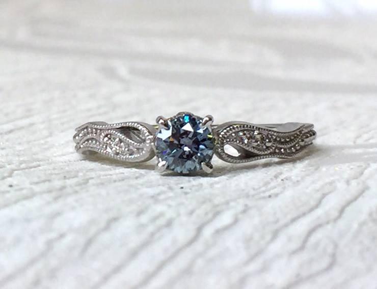 Algordanza_骨灰鑽石鑲嵌成戒指