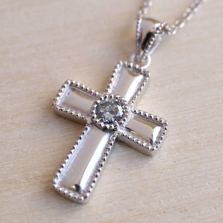 十字架骨灰鑽石吊墜