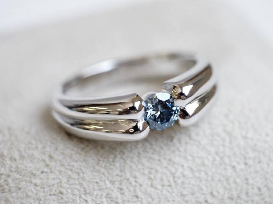 骨灰鑽石戒指