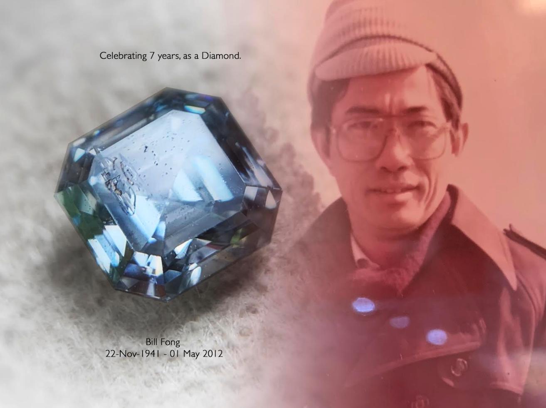 客戶分享——Bill Fong 的骨灰鑽石