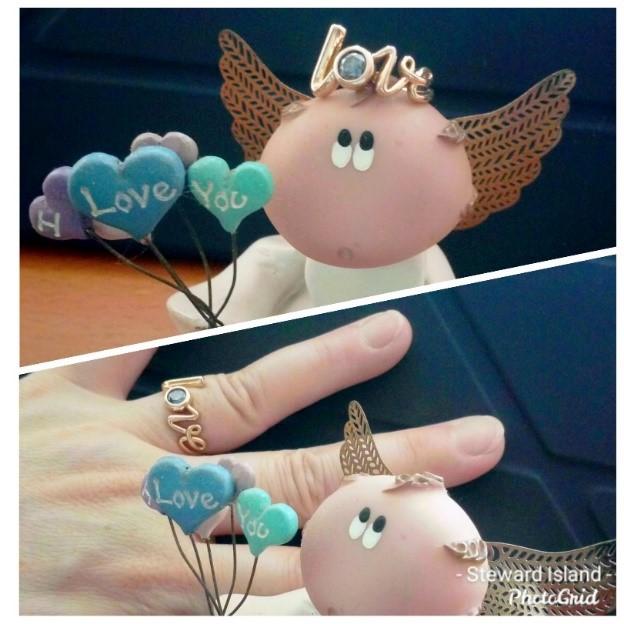 客戶分享骨灰鑽石戒指照片 (Cindy Pang)