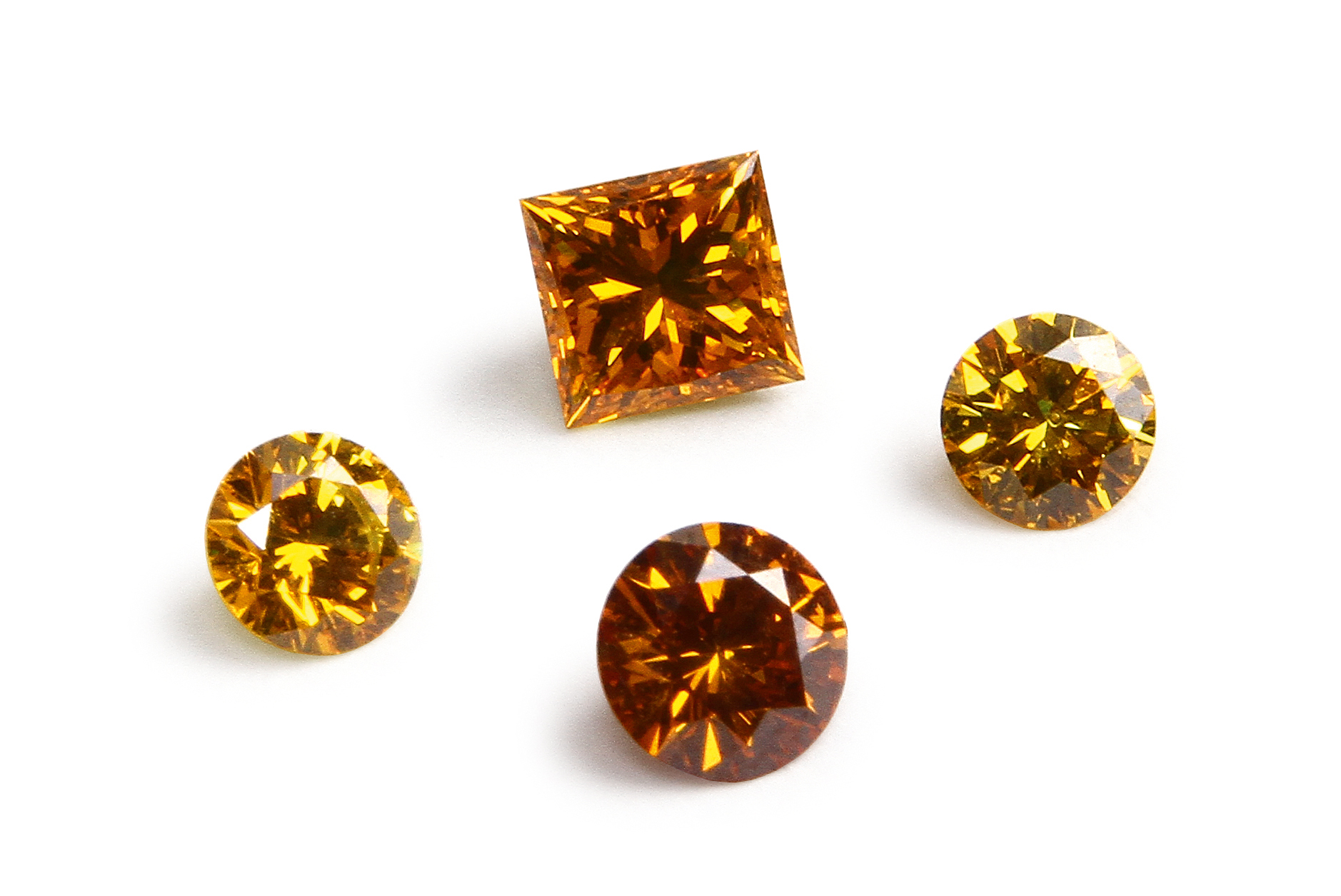Semper Fides 骨灰鑽石——黃色