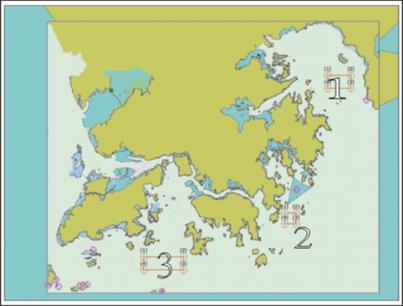 香港海葬地點分佈