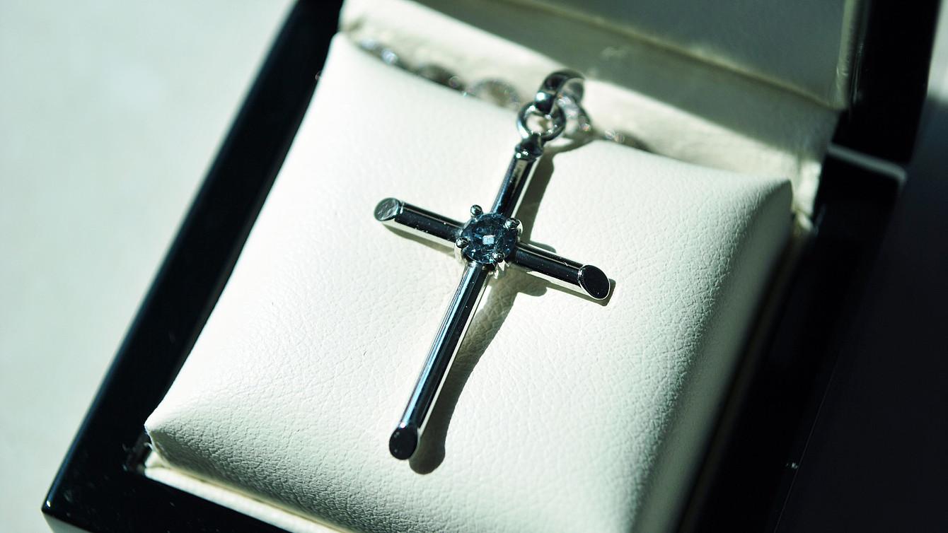 Slim Cross pendant