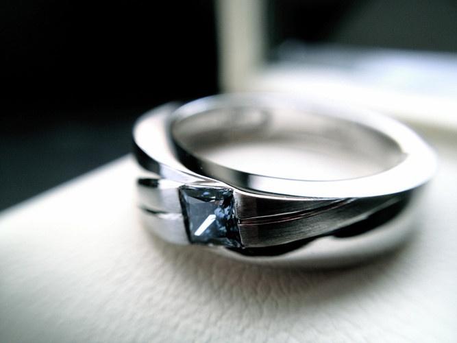 Princess Cut Ring