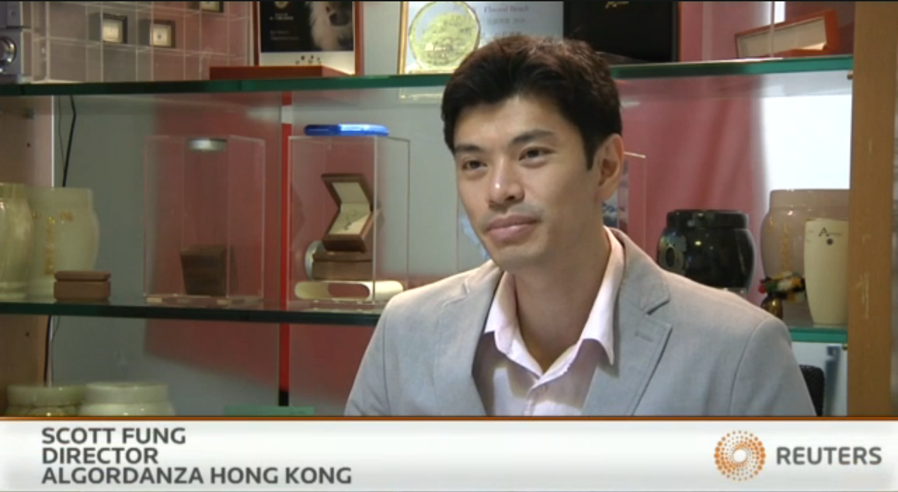 Scott Fong Reuters Interview 2016