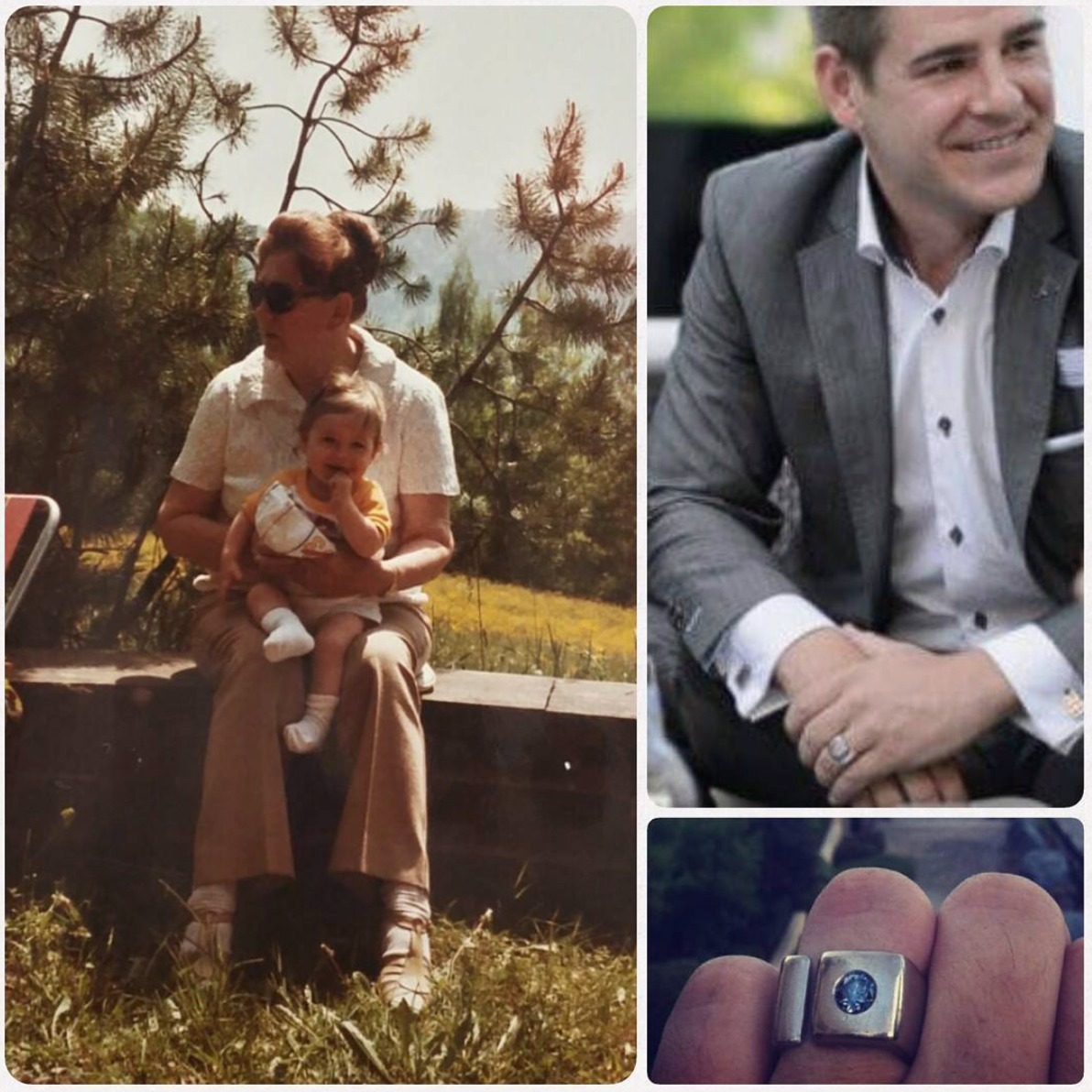 Diamond ring grandmother